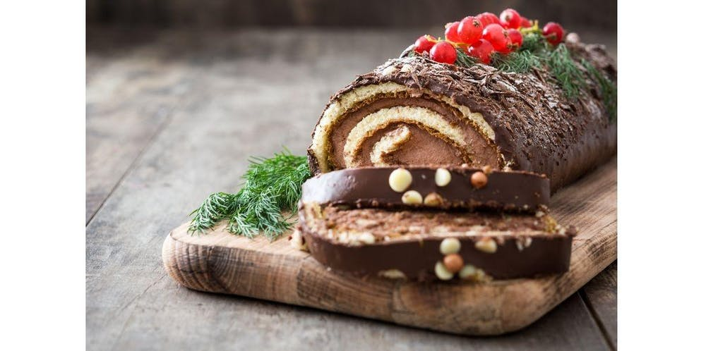 Christmas Log.East Village Buche De Noel Christmas Log 2019 12 05
