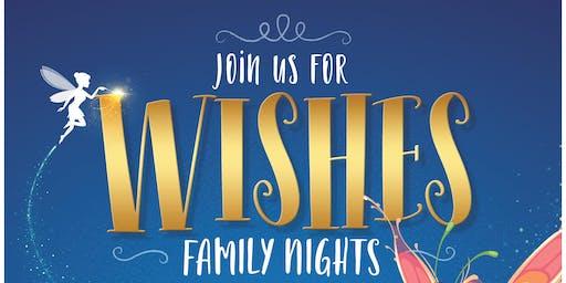 Ovation Brands® Celebrates Wishes Family Night – Make a Wish!