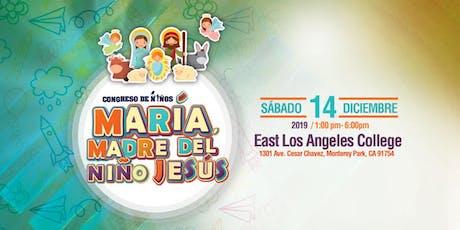 """Congreso de Niños 2019 de El Sembrador  """"María, Madre del Niño Jesús"""" tickets"""