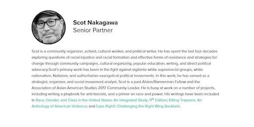 Open Forum with Scot Nakagawa: Combating  White Nationalism