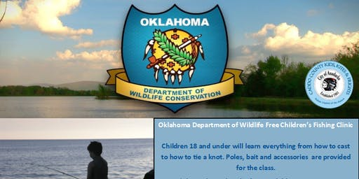 Oklahoma Department of Wildlife Free Children's Fishing Clinic