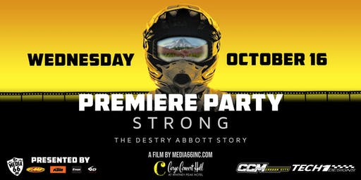 Strong, the Destry Abbott Story at Cargo Concert Hall