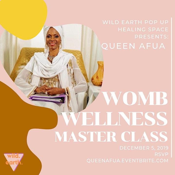 Queen Afua's Womb Wellness Master Class image