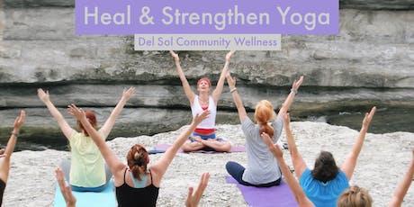 Heal & Strengthen tickets