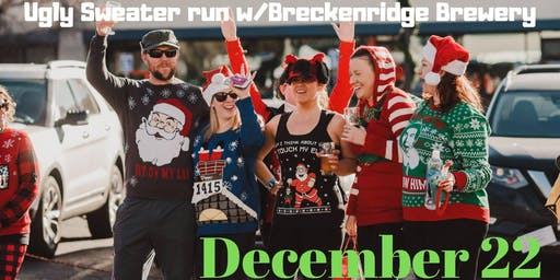 Ugly Sweater Brew run w/Breckenridge Brewery