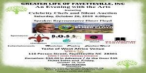 An Evening with the Arts featuring Celebrity Chefs and Silent Auction