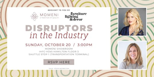 Disruptors in the Digital Age - Momeni Panel at High Point Market