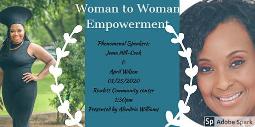 Woman to Woman Empowerment Event