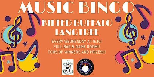 Music Bingo at Kilted Buffalo Langtree