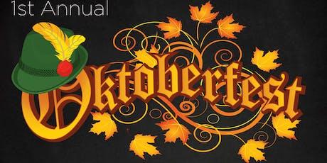 1st Annual Oktoberfest tickets