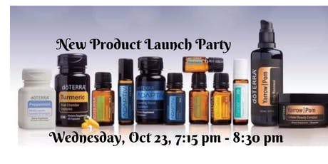 San Jose, CA - NEW Essential Oil Product Launch Party tickets
