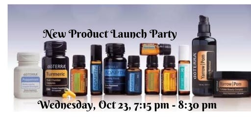 San Jose, CA - NEW Essential Oil Product Launch Party