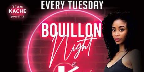 Bouillon Night tickets