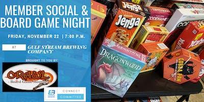 Member Social & Board Game Night