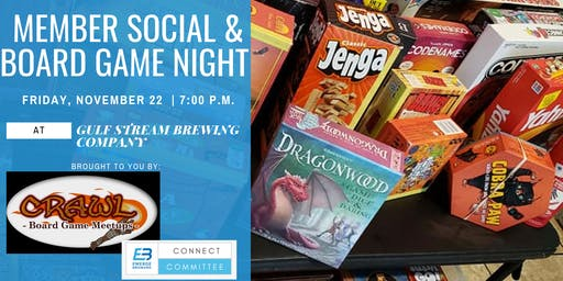 Member Social & Board Game Night