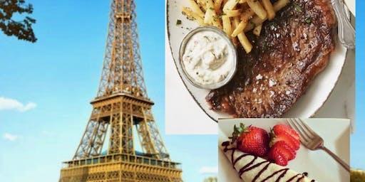 An Evening in Paris.  A supper class exploring the cuisine of Paris