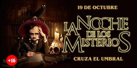 La Noche de los Misterios (OCTUBRE 19) entradas