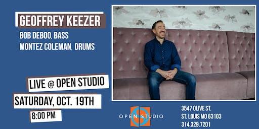 Geoffrey Keezer - LIVE @ Open Studio