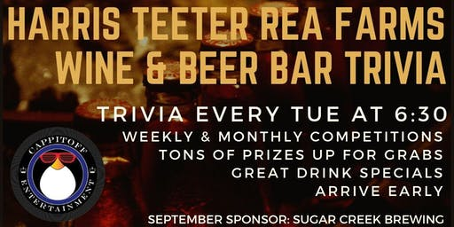 Trivia at Harris Teeter Rea Farms Wine & Beer Bar