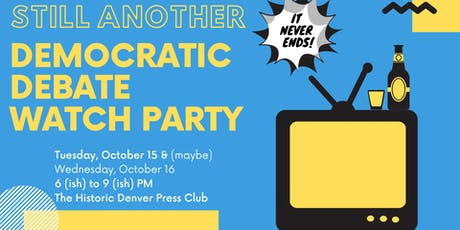 October Presidential Debate Watch Party tickets