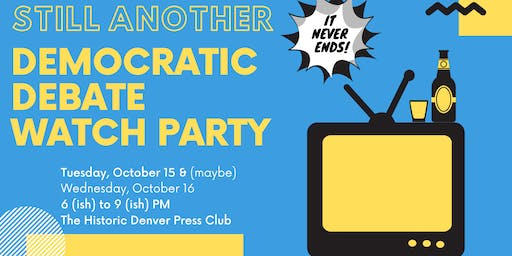 October Presidential Debate Watch Party