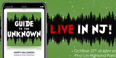 Guide to the Unknown Live - a comedy podcast about horror!
