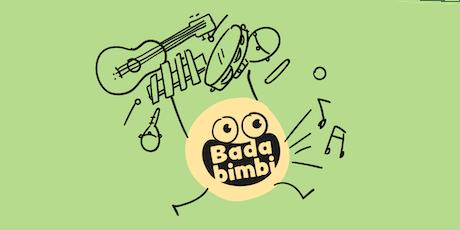 Bada musica - Costruiamo uno strumento  per bambini 3/10 anni biglietti