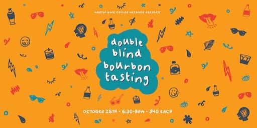 Double Blind Bourbon Tasting