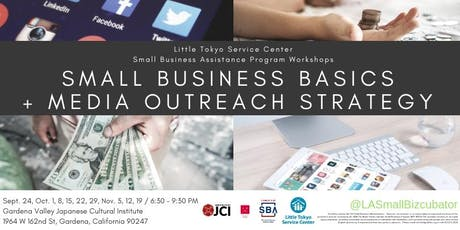 Small Business Basics + Media Outreach Strategy tickets