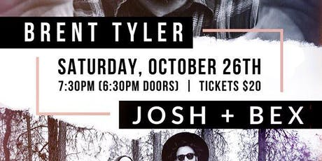 Josh + Bex With Special Guest Brent Tyler tickets
