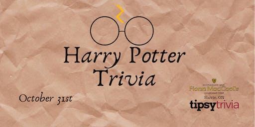 Harry Potter Trivia - Oct 31 8pm Fionn MacCools Barrie On