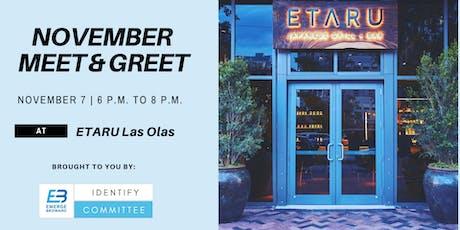 November Meet & Greet tickets