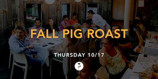 Fall Pig Roast