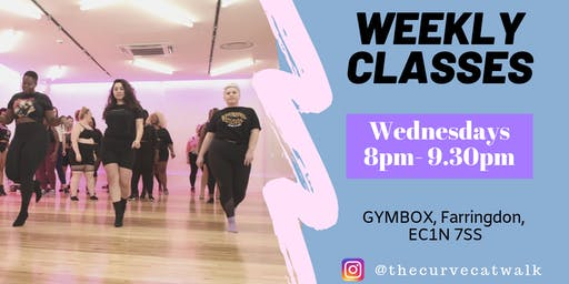 THE CURVE CATWALK- October Dance Class
