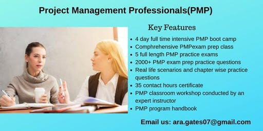 PMP Exam Prep Course in Bethlehem, PA