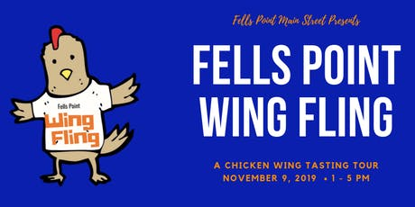 Fells Point Wing Fling Chicken Wing Crawl tickets