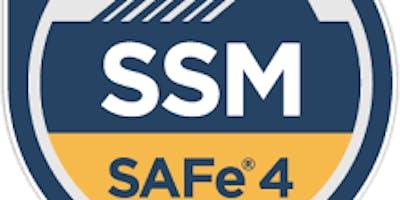 SAFe® Scrum Master v4.6 Training with SSM Certification - Houston, TX