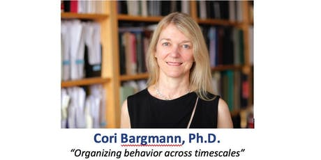 Cori Bargmann, Ph.D. - Presidential Lecture tickets