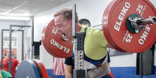 Wichita Falls Athletic Club Team Lifting Competition