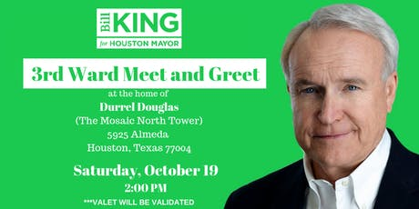 Bill King for Mayor Reception tickets