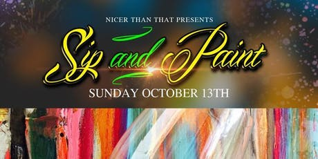 Sip And Paint tickets