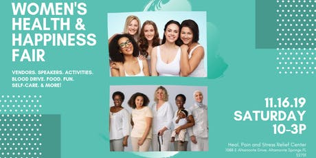 Women's Health & Happiness Fair tickets