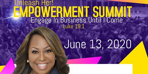 Unleash Her!  Empowerment Summit w/Cindy Trimm (Save The Date)