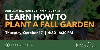 Planting a Fall Garden Happy Hour