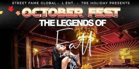 October Fest : The Legends of Fall tickets