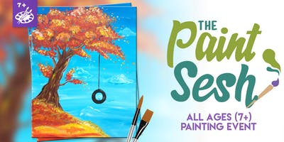 "All Ages Paint Class: Riverside, CA - ""Fall Swing"""