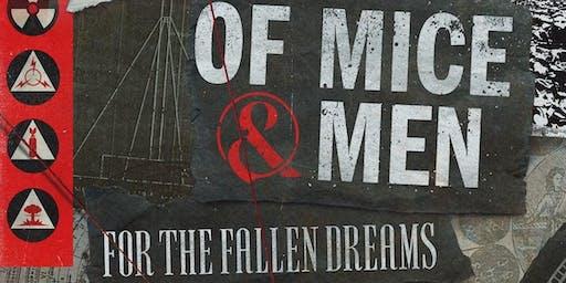 OF MICE & MEN / FOR THE FALLEN DREAMS / THOUSAND BELOW