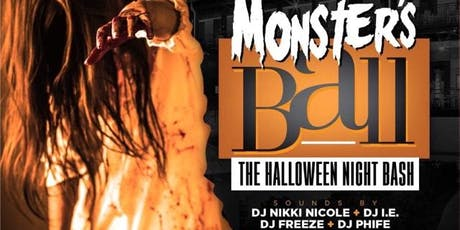 Monster's Ball Halloween Night Bash tickets