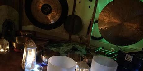 Cacao Ceremony w/- Candlelit Gong Nidra Sound Bath plus! Booking Deposit tickets