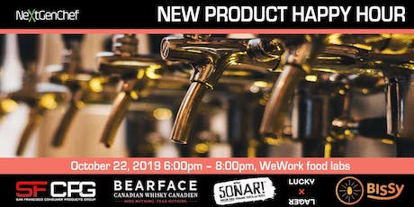 NEW PRODUCT HAPPY HOUR tickets